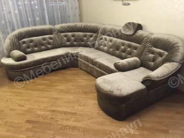диван после перетяжки