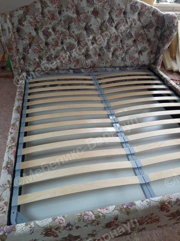 кровать и изголовье после перетяжки пример 15