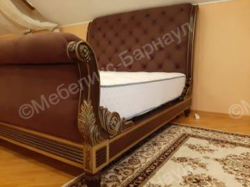 кровать и изголовье после перетяжки пример 4
