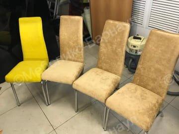 стул после перетяжки